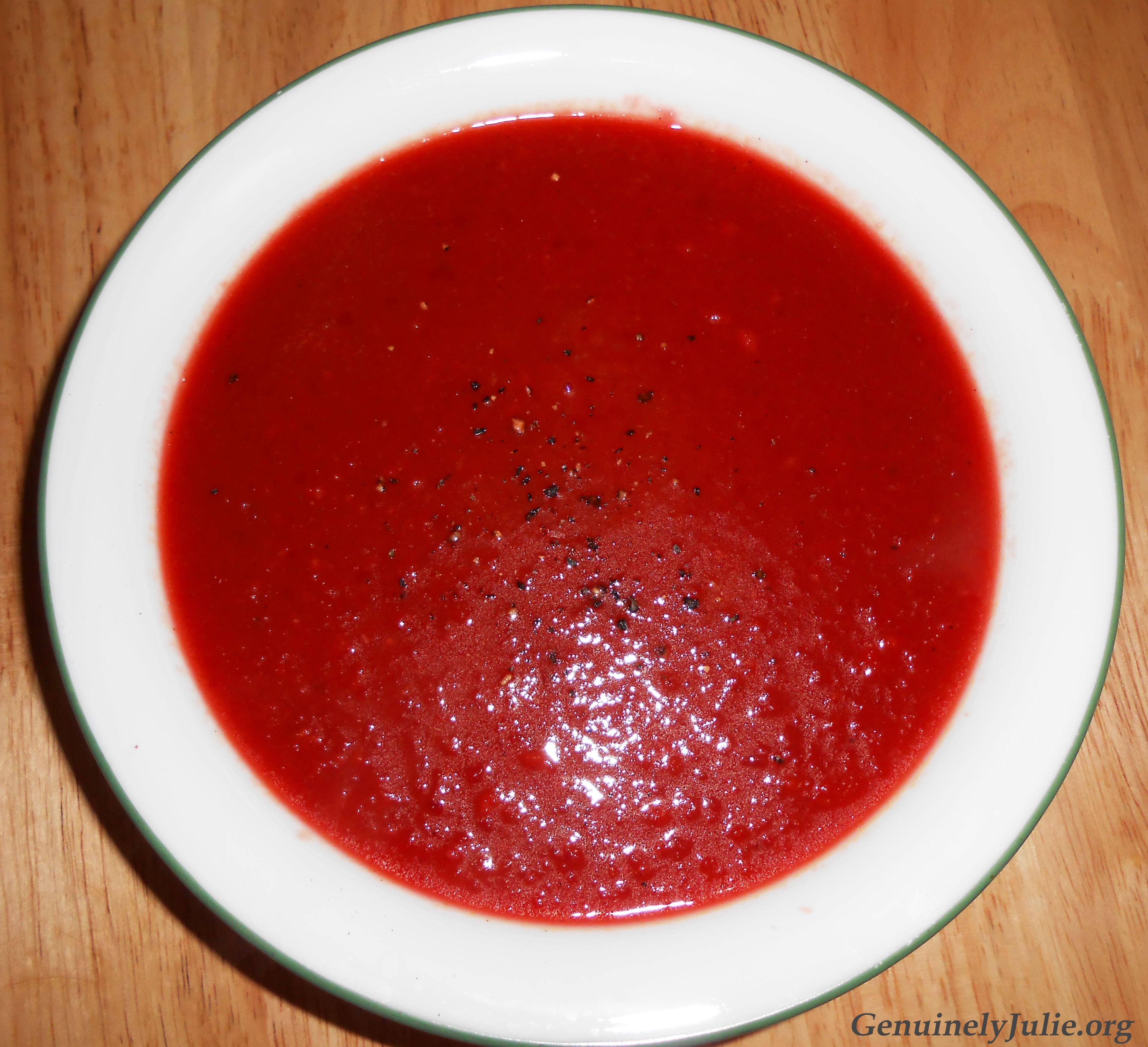 Beet Apple Ginger soup 1