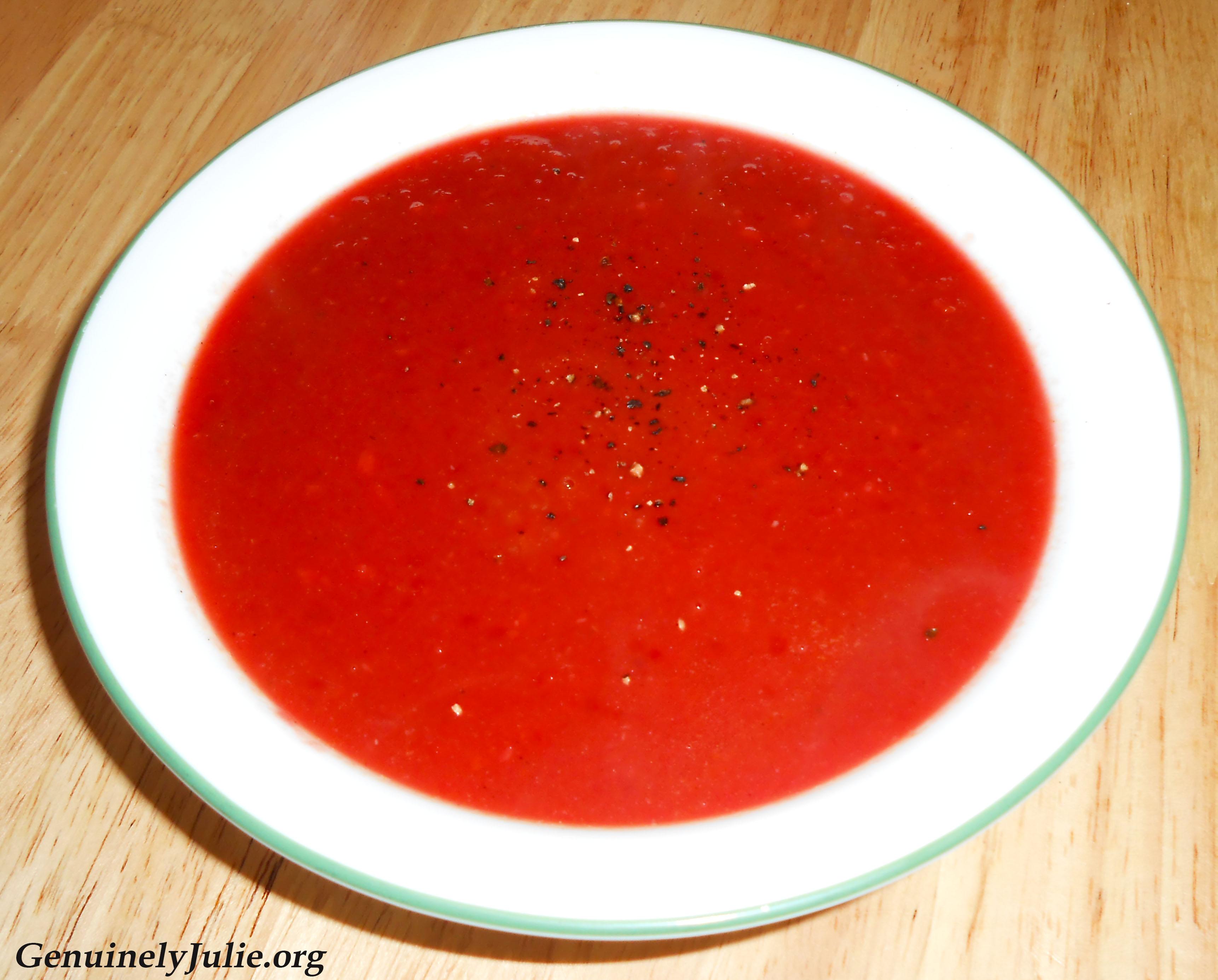 Beet apple ginger soup 2