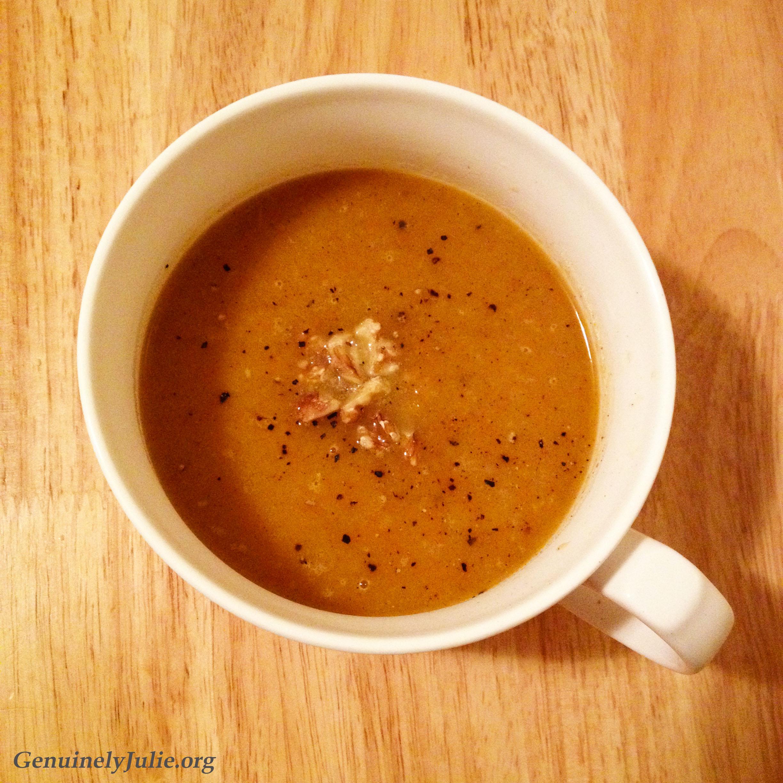Rutabega Pear Soup 1