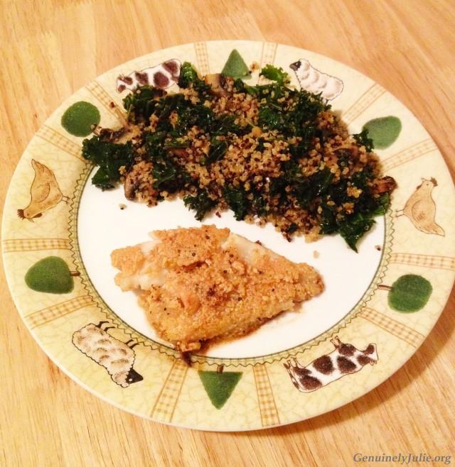 cashew cod + quinoa 2