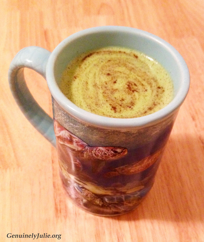 Maple matcha latte 2
