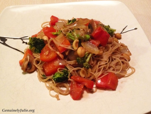simple veggie stirfy 2