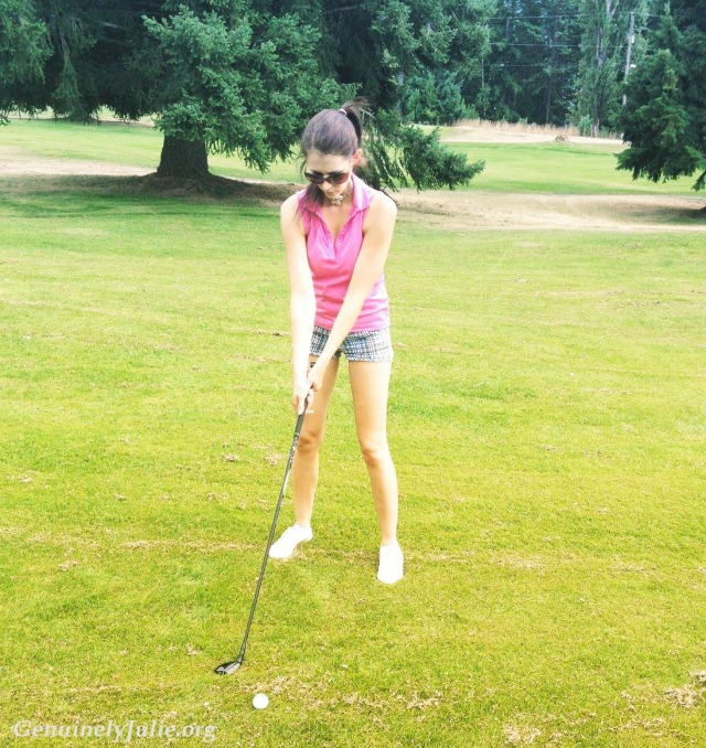 trying to golf - Bc 2015