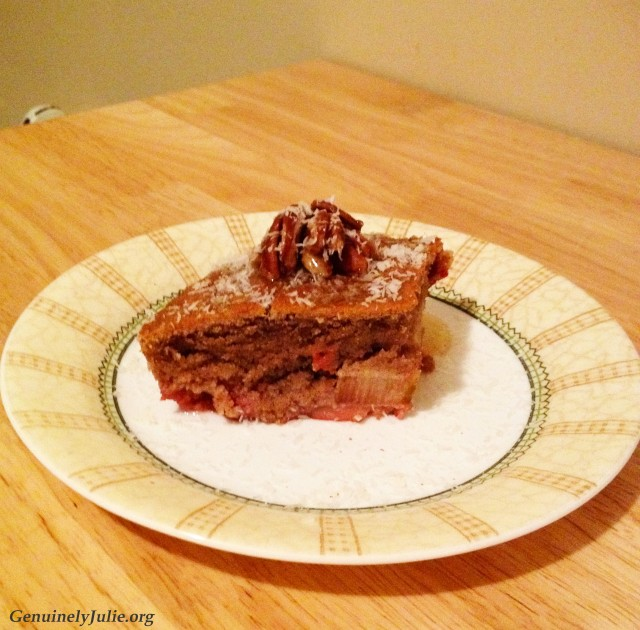 Upside-down cake 1