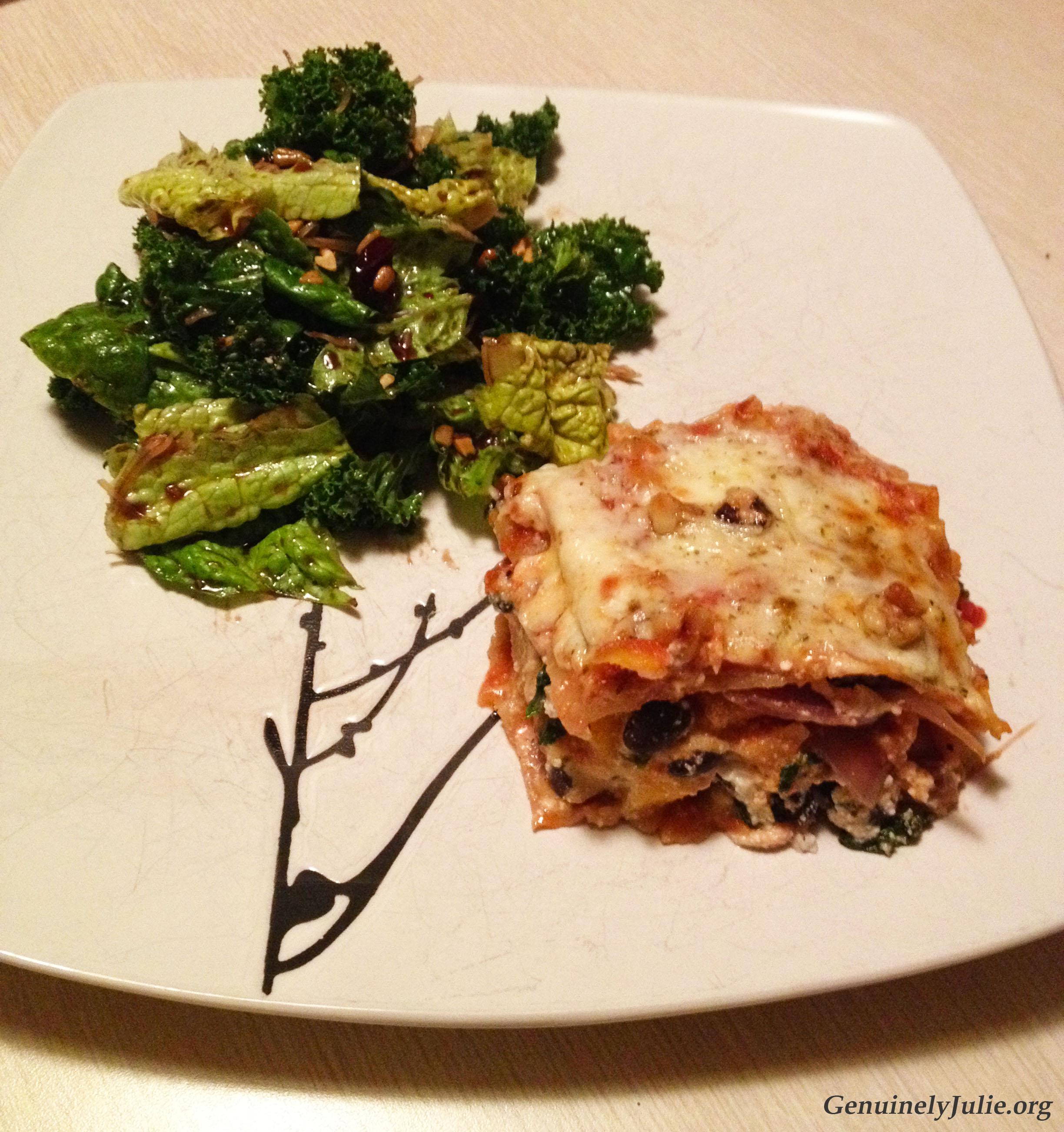 BN squash kale onion veg lasagna 2